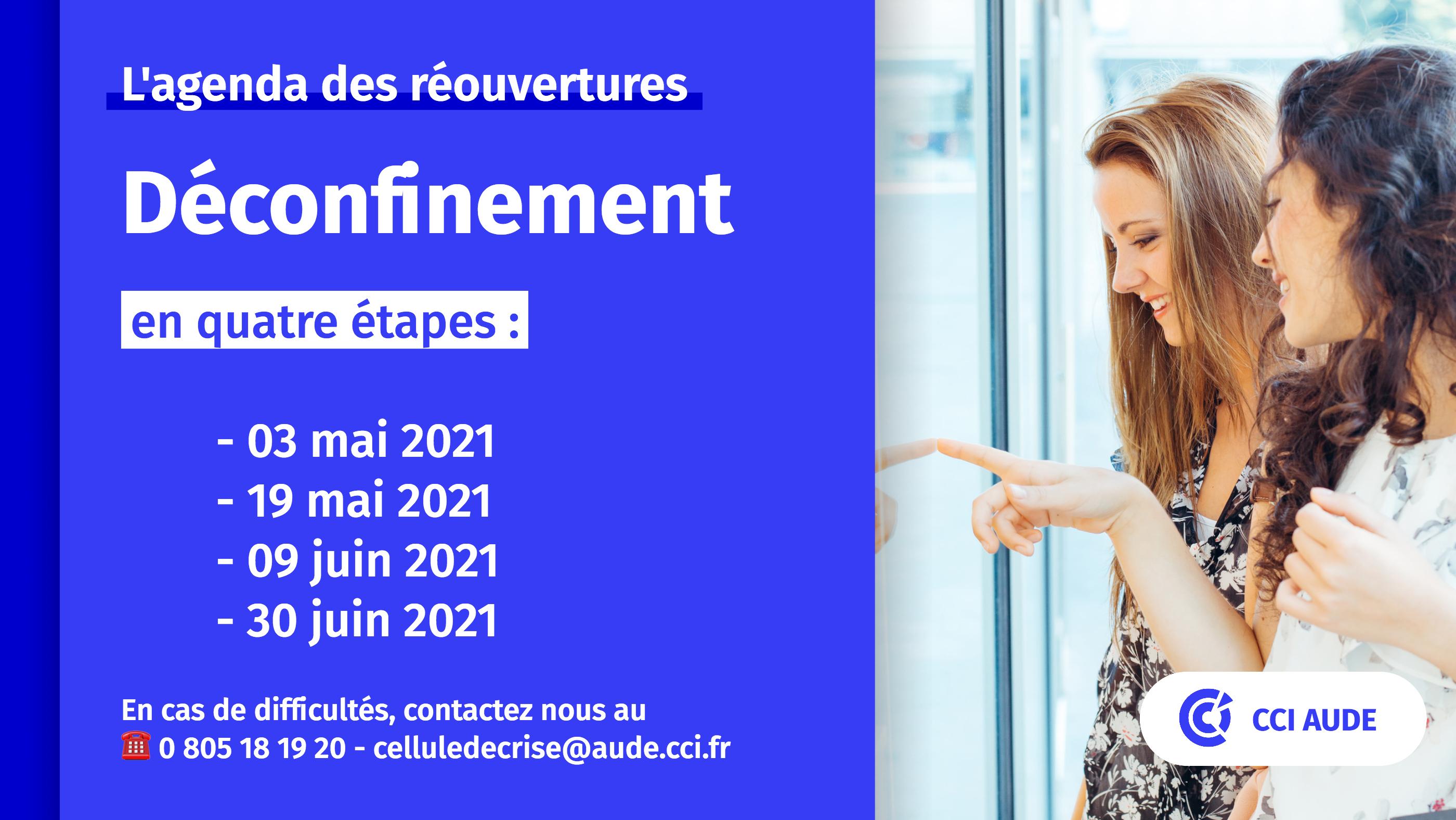 2021 déconfinement visuel