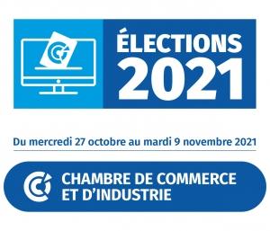 2021 - Logo Elections CCI France