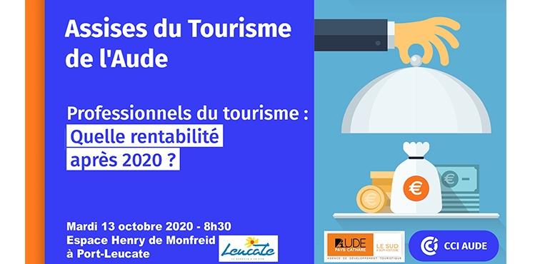 2020-10-13 Visuel 22e Assises du Tourisme de l'Aude