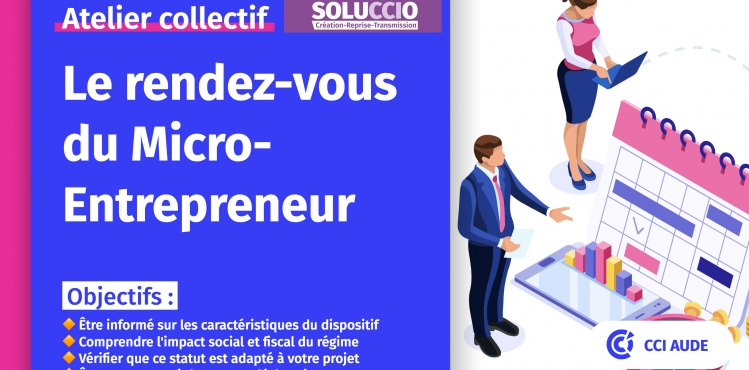2021 vignette RDV Micro Entrepreneur Soluccio CCI AUDE