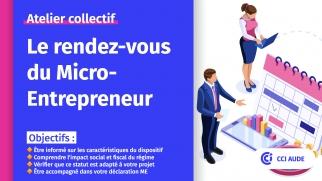 2021 vignette RDV Micro Entrepreneur CCI AUDE